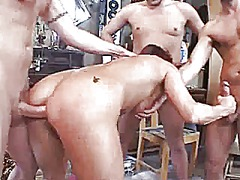 Workshop visit and gangbang