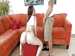 PinkRod Movie:Blonde with juicy boobs and tr...