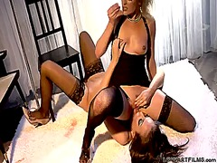 Samantha ryan and nika noir have a lot of fun in this girl-on-girl action