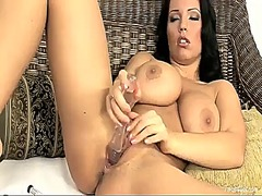 PinkRod Movie:Laura lion with juicy knockers...