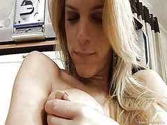Thumb: Tgirl tries the longes...