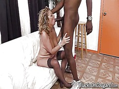Karen summer fucks an ebony dude