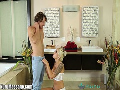 Tube8 Movie:Nurumassage mom gives step-son...