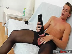 Thumbmail - Gay guy teasing his co...