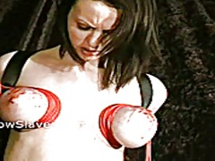 Pussy punished emily sharpe in extreme bdsm and suffering