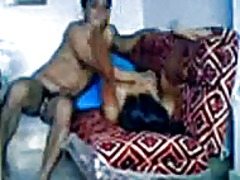 Indian couple having s...