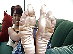 Sweet ebony feet video