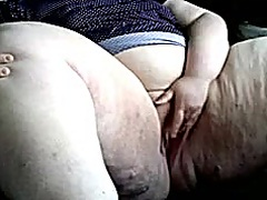 SSBBW fingering her pussy preview