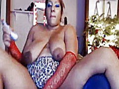 Thumb: Thick lady large areol...