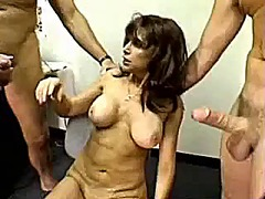 Mature slut facefucked