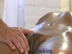 Massage rooms young bl...