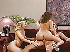 threesome, mature, vintage, babe