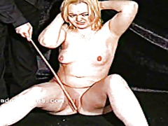 Xhamster Movie:Blonde fetish slave donna denn...