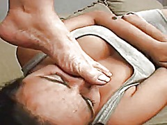 Xhamster Movie:Face slapped by foot (brazilia...