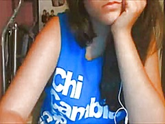 Chubby italian girl on... video