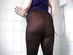 Big ass wet spandex 3 video
