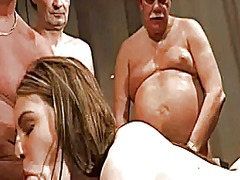 Xhamster Movie:5 old men bang the young