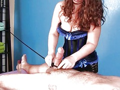 Cock massage punishment.