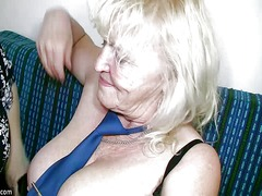 Oldnanny mature with big boobs mastur...