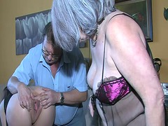 Ah-Me Movie:Oldnanny sexy young girl playi...