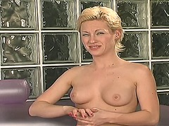 Xhamster - Hot blonde uses vibrat...