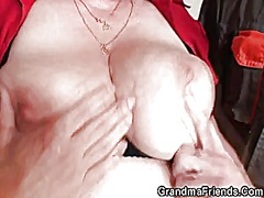 Xhamster Movie:Two repairmen share busty grandma