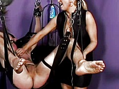 See: Dominatrix pours hot w...
