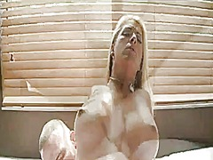 Chubby blonde milf wit... video
