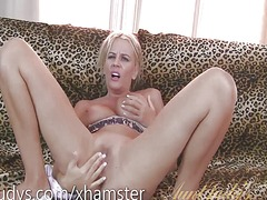 Xhamster - Olga plays with her ma...