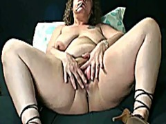 Thumb: Horny mature bbw smoki...