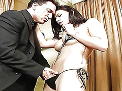 Thumb: eva angelina sucks and...