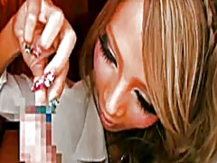 Xhamster Movie:Asian wilh long nails tease an...