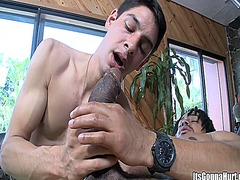 Hot man loves this mon...