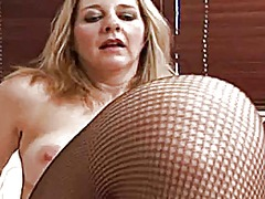 Sexy milf playing with...