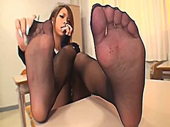 stocking, foot fetish, pov, foot