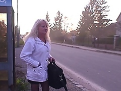 Vporn Movie:GRANNY misses the bus