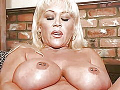 Xhamster - Big tittied blonde mil...
