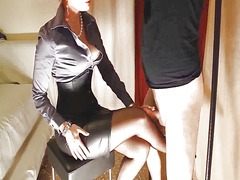 Tied sissy rubbing coc... video