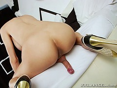 Asian tgirl pan sensua... video