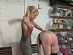 Thumb: Spanked in the basement