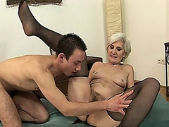 mature, hairy, granny,