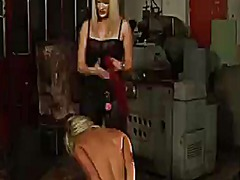PinkRod - Blonde gets tongue fuc...