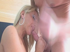 hardcore, oral, sucking, blonde,