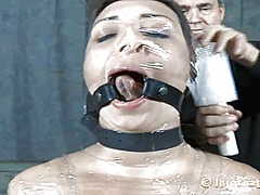Ah-Me Movie:Caged up girl is forced to giv...