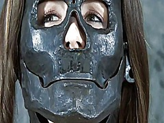 Ah-Me Movie:Stripped and gagged babe recei...