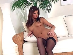 Teasing glamour babe i... video