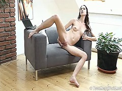 PinkRod - Lida has toy-hungry pussy