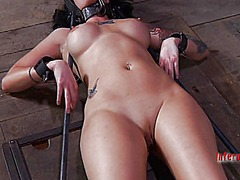 Ah-Me Movie:Gagged and tied up hotty gets ...