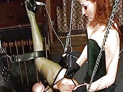 Sexy dominatrix tortur... video