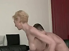 Dirty skinny french milf get fucked
